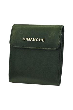 Портмоне Dimanche. Цвет: зеленый