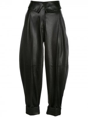 Укороченные брюки с завышенной талией Proenza Schouler. Цвет: черный