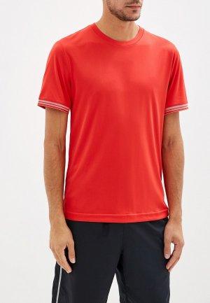 Футболка спортивная Wilson. Цвет: красный