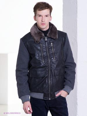 Куртка CONVER. Цвет: черный