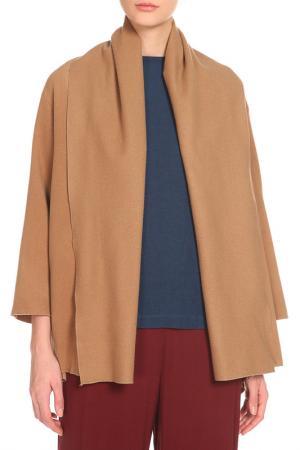 Пальто Cyrille Gassiline. Цвет: светло-коричневый