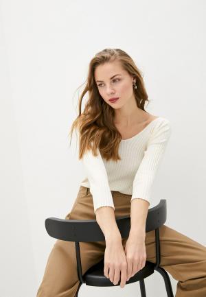 Пуловер Max&Co. Цвет: бежевый