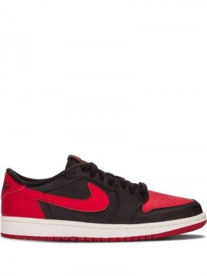 Кроссовки Air  1 Retro Low OG Jordan. Цвет: черный