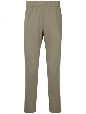 Спортивные брюки с лампасами Makavelic. Цвет: синий