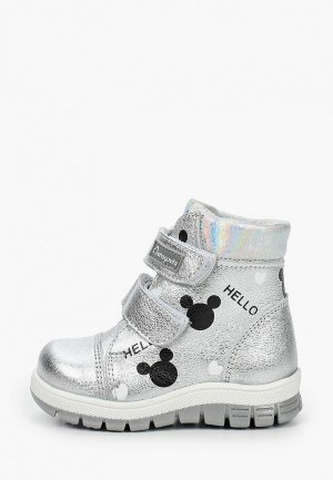 Ботинки Shagovita. Цвет: серебряный