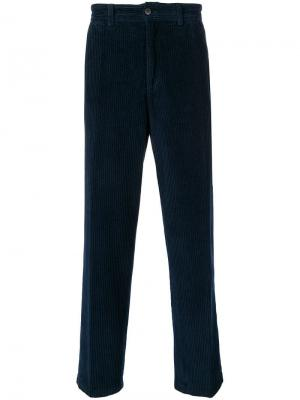 Corduroy trousers Our Legacy. Цвет: синий