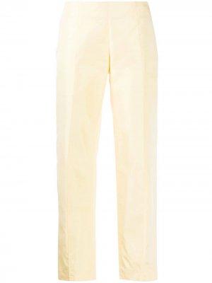 Укороченные брюки 1960-х годов с завышенной талией Emilio Pucci Pre-Owned. Цвет: желтый