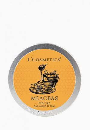 Маска для тела LCosmetics L'Cosmetics. Цвет: прозрачный