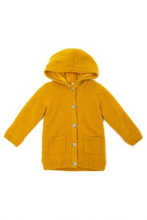 Пальто PlayToday. Цвет: оранжевый
