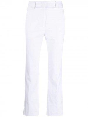 Укороченные брюки Peserico. Цвет: белый