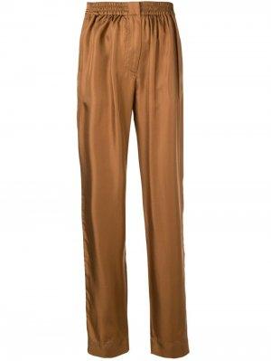 Строгие брюки Cédric Charlier. Цвет: коричневый
