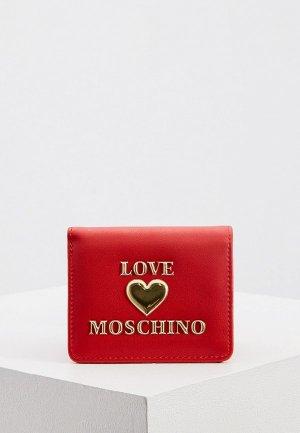 Кошелек Love Moschino. Цвет: красный