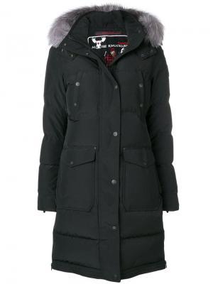 Padded coat Moose Knuckles. Цвет: черный