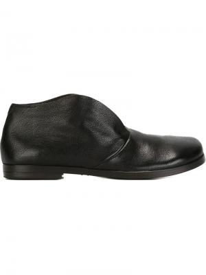Ботинки-дезерты Listello Marsèll. Цвет: черный