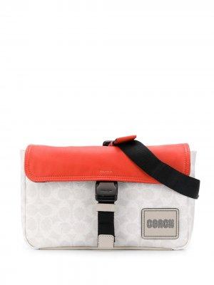 Поясная сумка Pacer с логотипом Coach. Цвет: нейтральные цвета