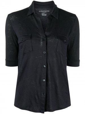 Рубашка Lydia с нагрудными карманами Majestic Filatures. Цвет: синий
