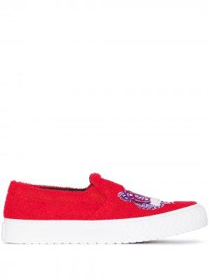 Слипоны K-skate Kenzo. Цвет: красный