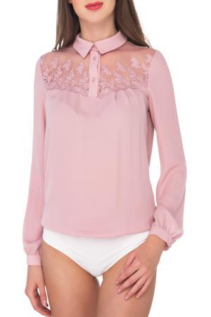 Блуза-боди AREFEVA. Цвет: серый