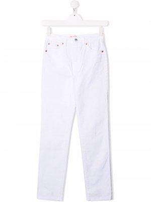 Levis Kids джинсы скинни Levi's. Цвет: белый
