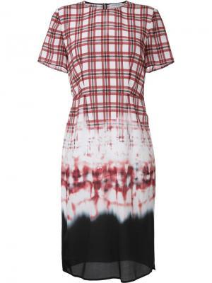 Платье Glaze Altuzarra. Цвет: красный
