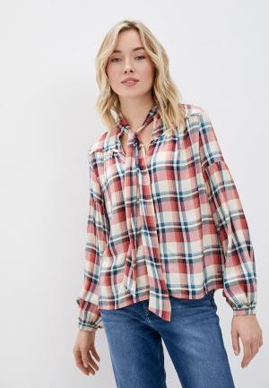 Рубашка Pepe Jeans. Цвет: бежевый