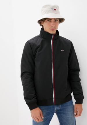 Куртка утепленная Tommy Jeans. Цвет: черный