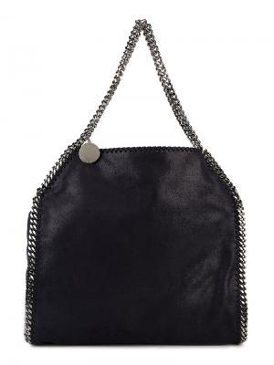 Средняя складная сумка-тоут Falabella Stella McCartney. Цвет: синий
