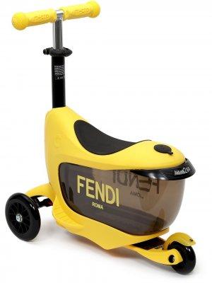 Самокат Baby Kick Fendi Kids. Цвет: черный