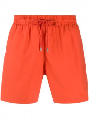 Плавки-шорты с кулиской Vilebrequin. Цвет: оранжевый