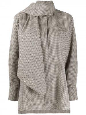 Рубашка Camicia Ports 1961. Цвет: коричневый