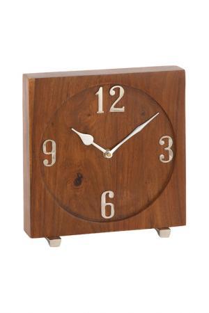 Часы настольные UMA. Цвет: коричневый