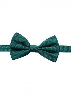 Галстук-бабочка в рубчик Dolce & Gabbana. Цвет: зеленый