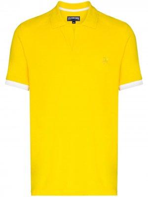 Рубашка поло Palatin Vilebrequin. Цвет: желтый