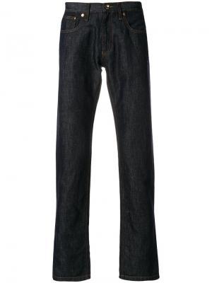 Прямые джинсы Giorgio Armani. Цвет: синий