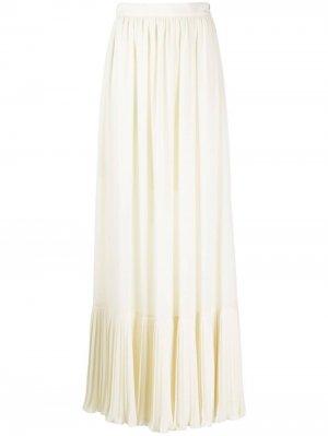 Плиссированная юбка макси Philosophy Di Lorenzo Serafini. Цвет: нейтральные цвета