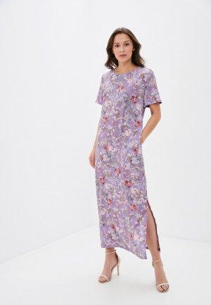 Платье Winzor. Цвет: фиолетовый