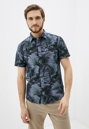 Рубашка Shine Original. Цвет: синий