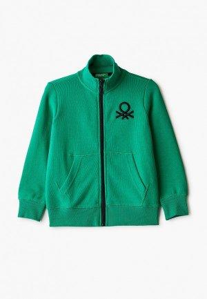 Олимпийка United Colors of Benetton. Цвет: зеленый