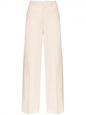 Расклешенные брюки Murphy Jil Sander. Цвет: нейтральные цвета
