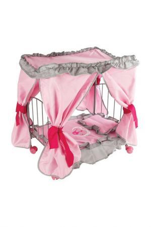 Кровать с балдахином Корона MARY POPPINS. Цвет: розовый