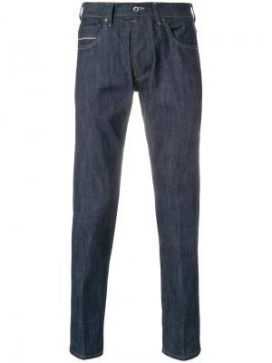 Прямые джинсы Re-Hash. Цвет: синий