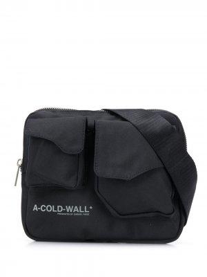 Поясная сумка A-COLD-WALL*. Цвет: черный