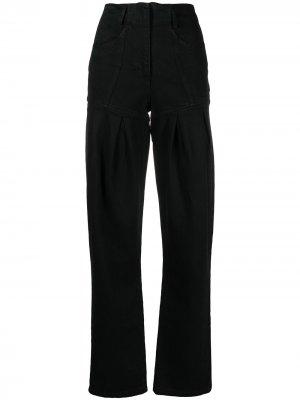 Зауженные джинсы Almaz. Цвет: черный