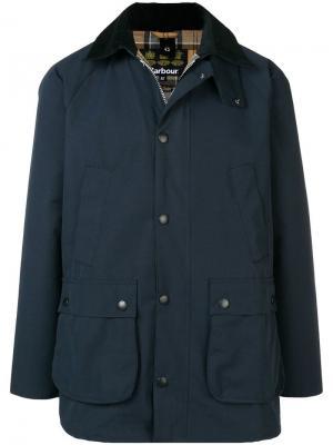 Куртка в стиле casual Sl Beadle Barbour. Цвет: синий