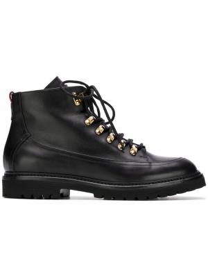 Ботинки на шнуровке Bally. Цвет: черный
