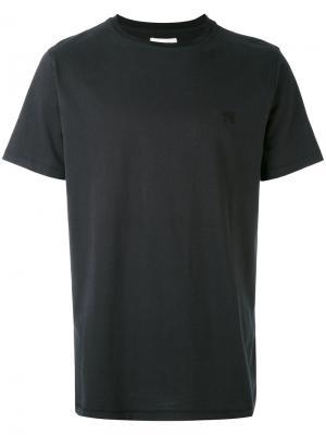 Базовая футболка Soulland. Цвет: чёрный