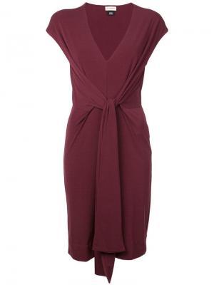 Платье Quinnas By Malene Birger. Цвет: красный
