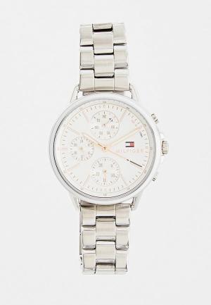 Часы Tommy Hilfiger. Цвет: серебряный