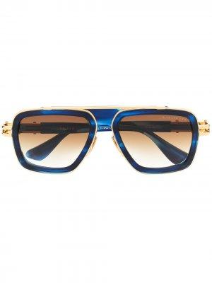 Солнцезащитные очки LXN-EVO Dita Eyewear. Цвет: синий