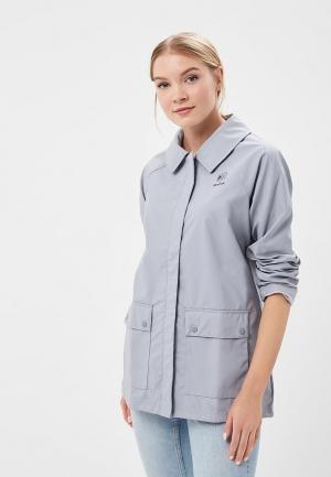 Куртка Reebok Classics. Цвет: серый